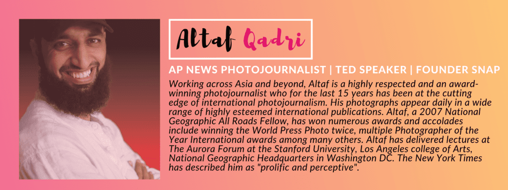 Altaf Qadri - GIVEHERLIFE PHOTOGRAPHY CONTEST - PANEL OF JUDGES