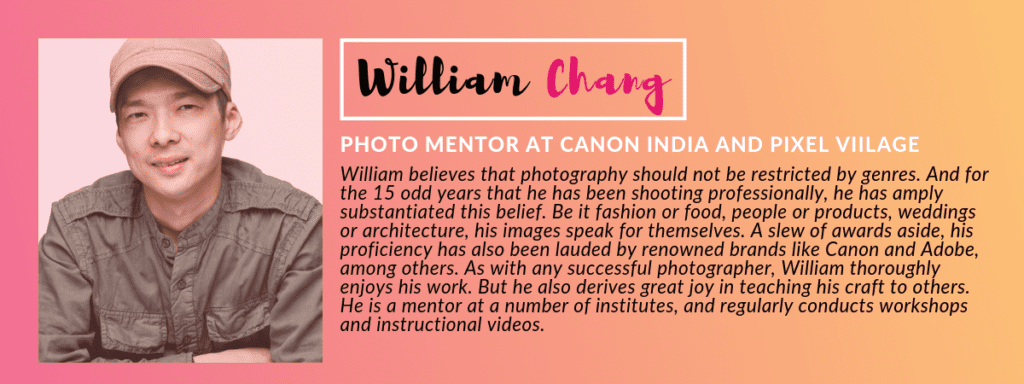 William Chang -PANEL OF JUDGES: GIVEHERLIFE PHOTOGRAPHY CONTEST