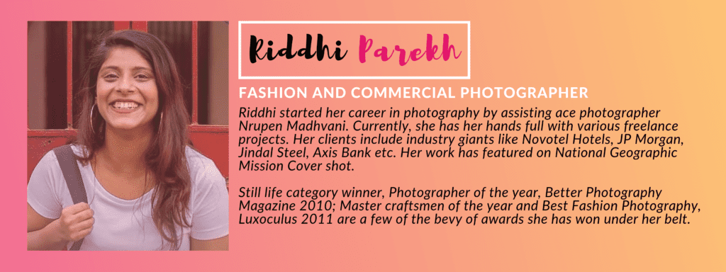 Kiddhi Parekh - PANEL OF JUDGES: GIVEHERLIFE PHOTOGRAPHY CONTEST