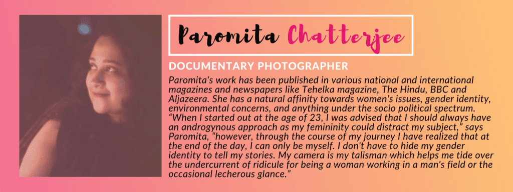 Paromita Chatterjee - PANEL OF JUDGES: GIVEHERLIFE PHOTOGRAPHY CONTEST